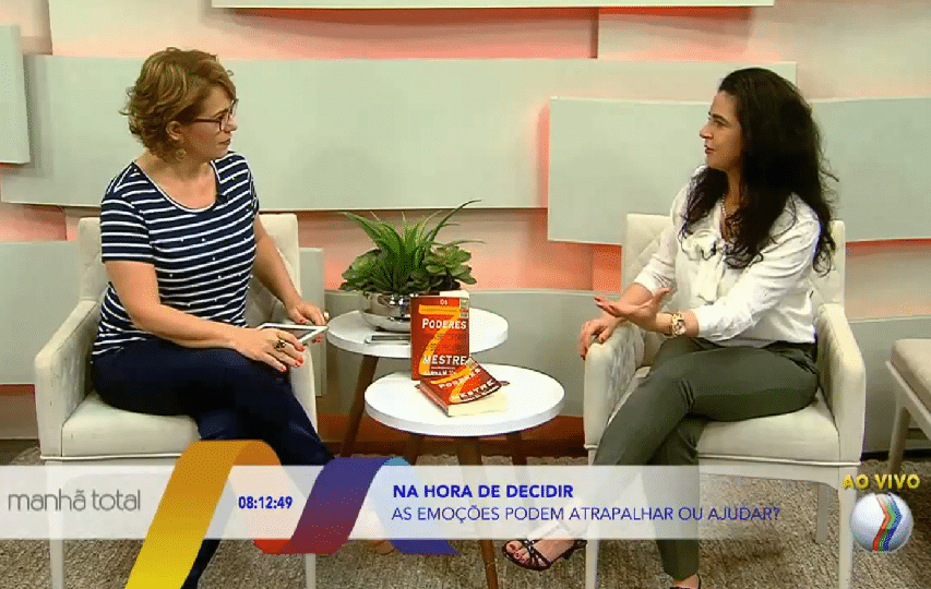 Karina ao vivo na TV - manhã total