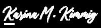 Logo-KarinaMKimmig-white